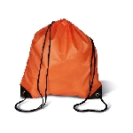 190T Polyester-Rucksack SHOOP, orange - Werbeartikel